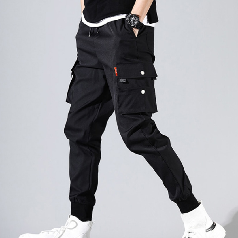 2021 Spring Summer Cargo Pant Men Joggers Harajuku Sport Thin Jogging Trousers Male Tactical Overalls Men's Tracksuit Clothing